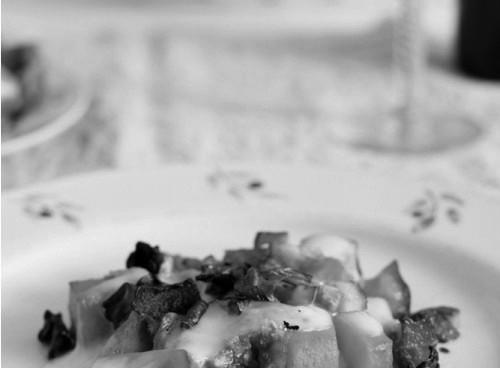 Del huerto a la mesa: Calabaza asada con shitake