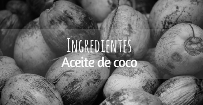 INGREDIENTES:  ACEITE DE COCO