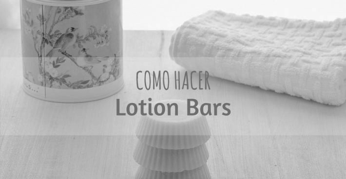 TRES INGREDIENTES PARA HACER LOTION BARS