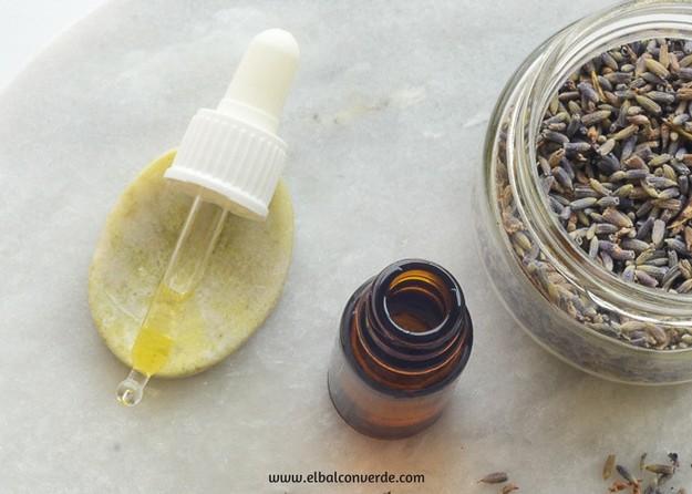 Receta aceite facial de Lavanda