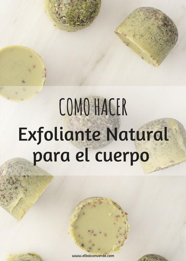 Exfoliantes para el cuerpo naturales