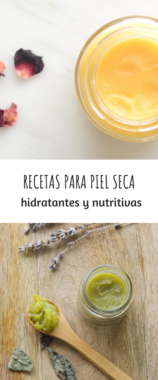 RECETAS PARA PIEL SECA: HIDRATANTES Y NUTRITIVAS