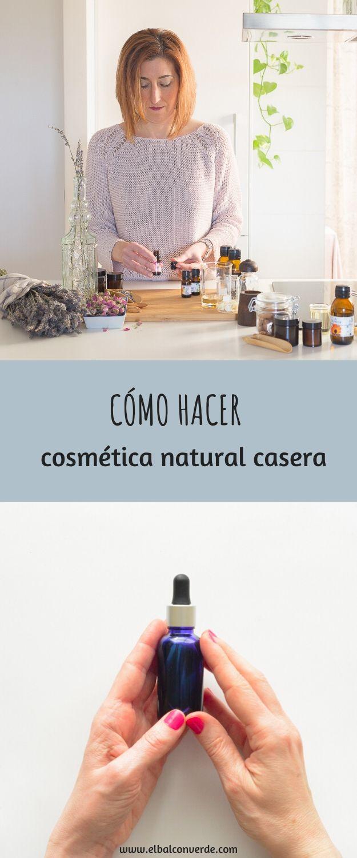 COMO HACER COSMETICA NATURAL EN CASA